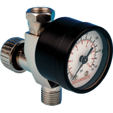 DeVILBISS HAV-501-B, Регулятор давления воздуха, с манометром
