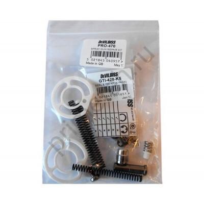 DeVILBISS PRO-470, Ремонтный набор для GTIPRO LITE: прокладки, пружины, сальники.