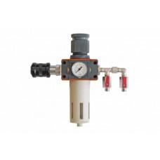 Metal Work DVFR-1Lite (аналог DeVILBISS), фильтр-влагомаслоотделитель для сжатого воздуха