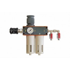 Metal Work DVFR-2Lite (аналог DeVILBISS), фильтр-влагомаслоотделитель для сжатого воздуха