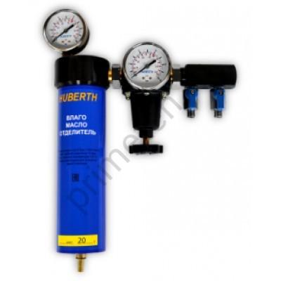 Huberth RP106001, фильтр воздушный влагомаслоотделительный одноступенчатый с редуктором