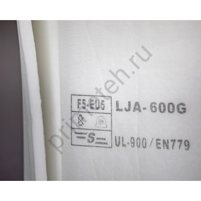 Фильтр потолочный для покрасочных камер по размеру заказчика (цена за 1 м²) PRIME LJA-600G
