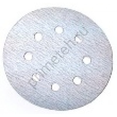Диски HANKO AC627 White 125мм 8отв. Р180, 220, 240, 320, 400, 600 (100 шт.)