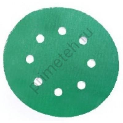 Диски HANKO DC341 Film Green 125мм, 8отв. Р1000, 1200, 1500, 2000 (100 шт.)
