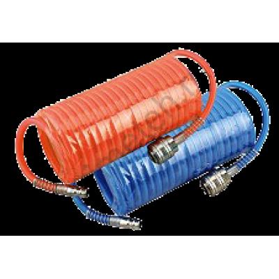 Huberth RP208038 Шланг витой 5м х 8мм, с быстроразъемным соединением.