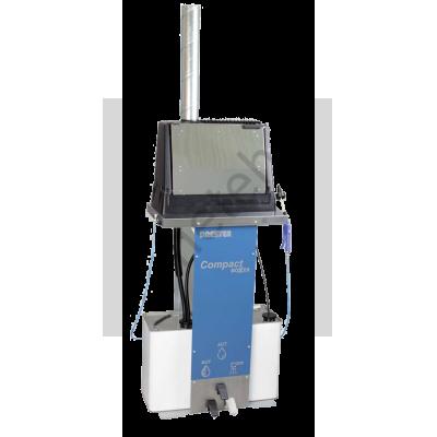 DRESTER Compact DC12, компактная установка для мойки окрасочного оборудования с использованием воды и растворителя