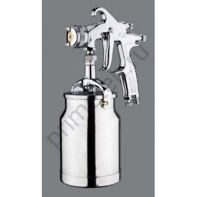DeVILBISS FLG окрасочный пистолет (краскопульт, краскораспылитель) пневматический с нижним бачком