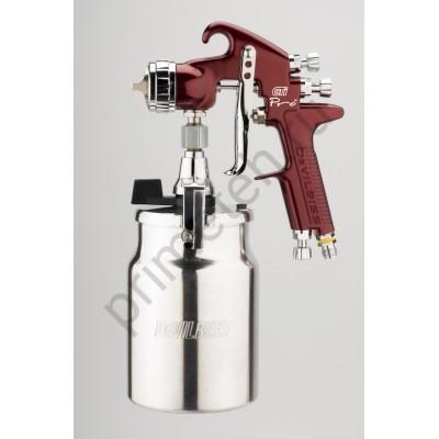 DeVILBISS GTi Pro окрасочный пистолет (краскопульт, краскораспылитель) c нижним бачком