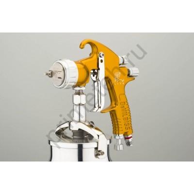 DeVILBISS GTi Pro LITE окрасочный пистолет (краскопульт, краскораспылитель) c нижним бачком