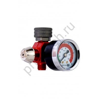 Многофункциональный механический регулятор давления с манометром RC1, SAGOLA 56418020