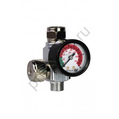 Механический регулятор давления с манометром RC2, SAGOLA 40000335