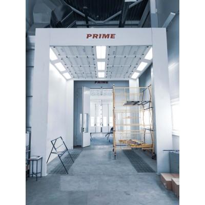 PRIME 34х6х6, промышленная окрасочно-сушильная (покрасочная) камера